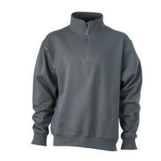 Zip Sweat Workwear carbon