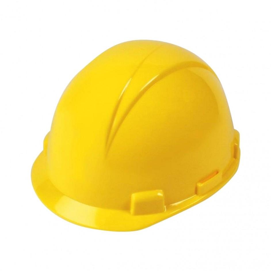 Logan 4 Punts veiligheidshelm in geel