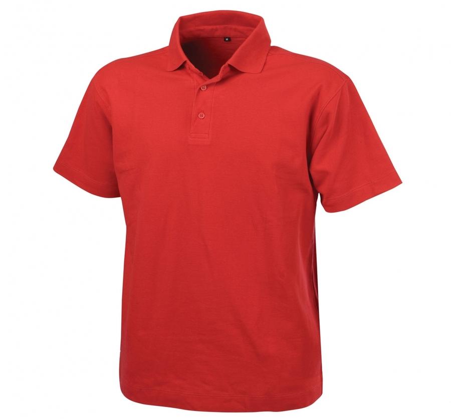 Dassy polo Leon rood