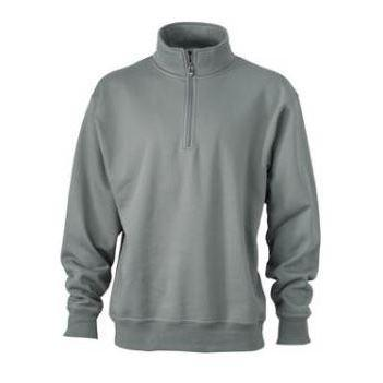 Zip Sweat Workwear donkergrijs