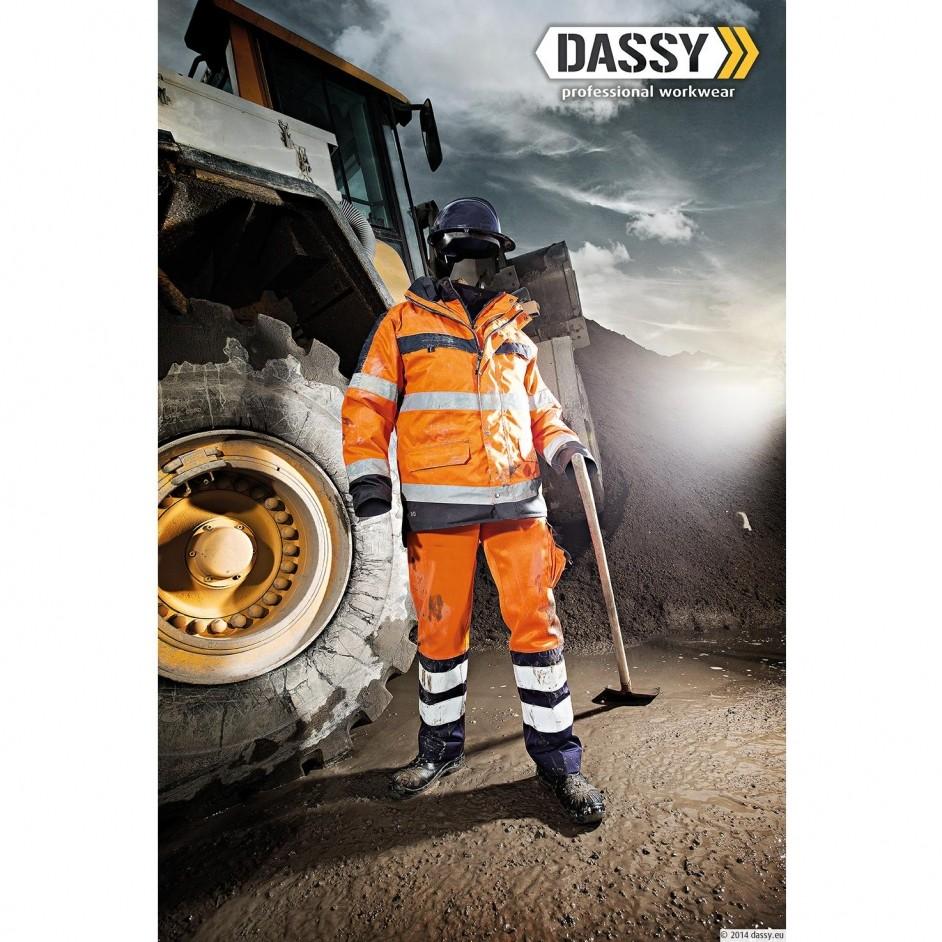 Dassy Lancaster hoge zichtbaarheidsbroek