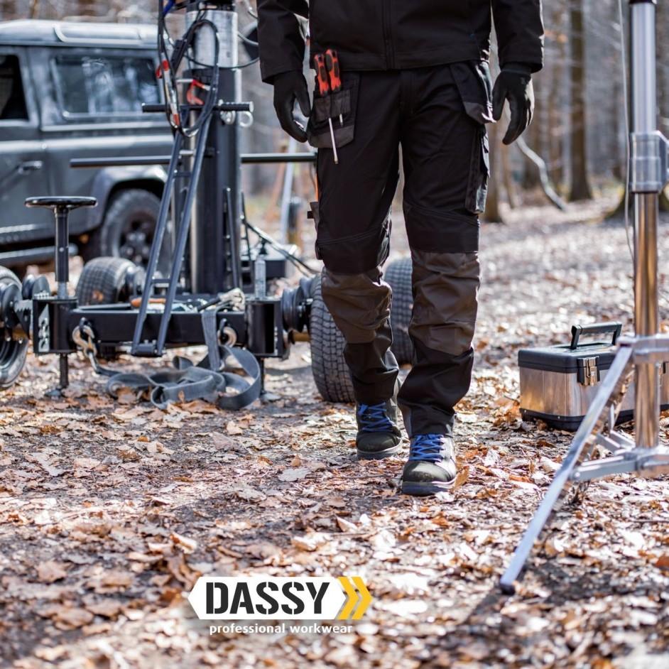 Dassy Dassy Magnetic holsterzakkenbroek met kniezakken
