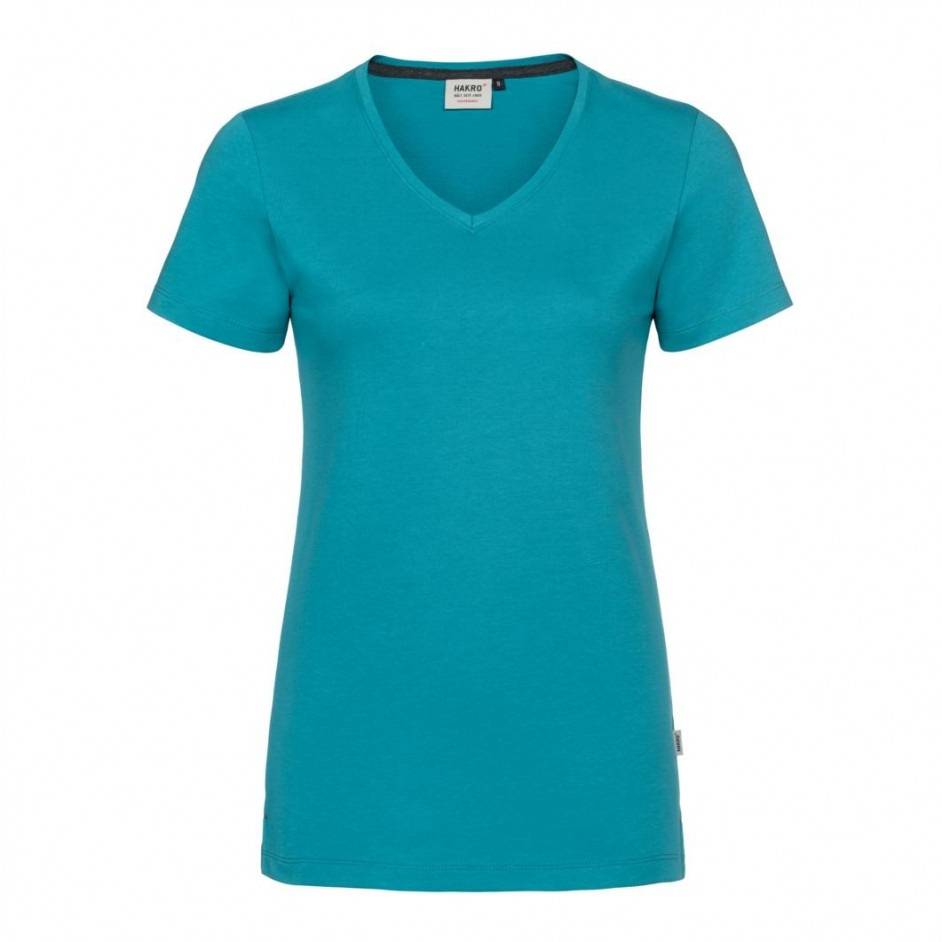 169 Dames V-shirt Cotton-Tex Hakro