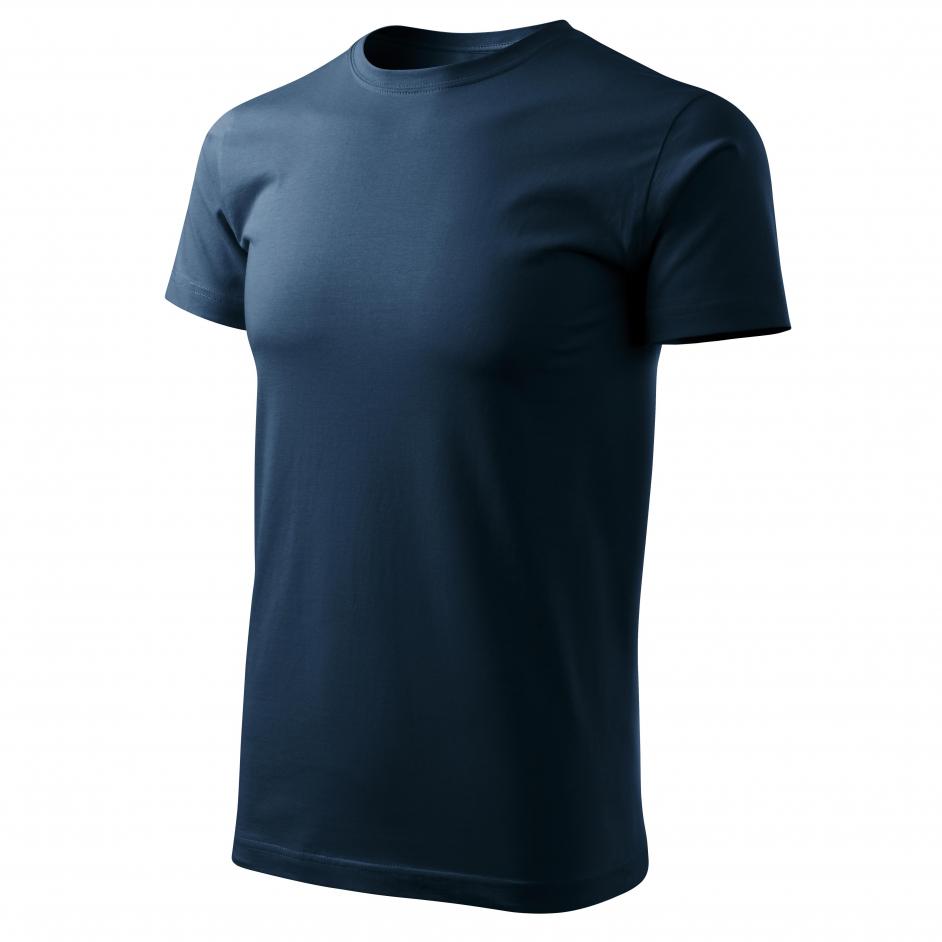 Malfini F29 T-shirt labelfree donkerblauw 02