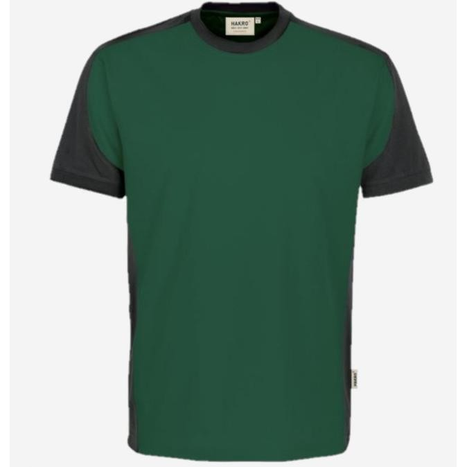 Hakro Heren v-hals T-shirt Contrast Performance 290