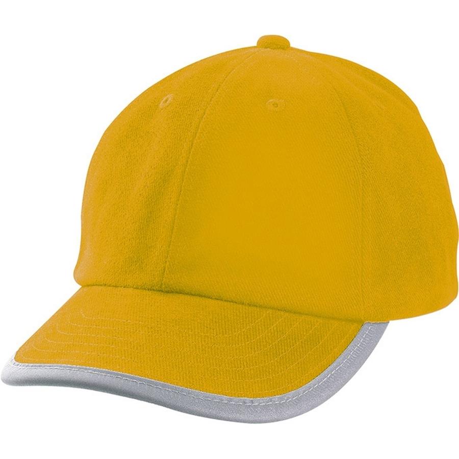 Security cap geel