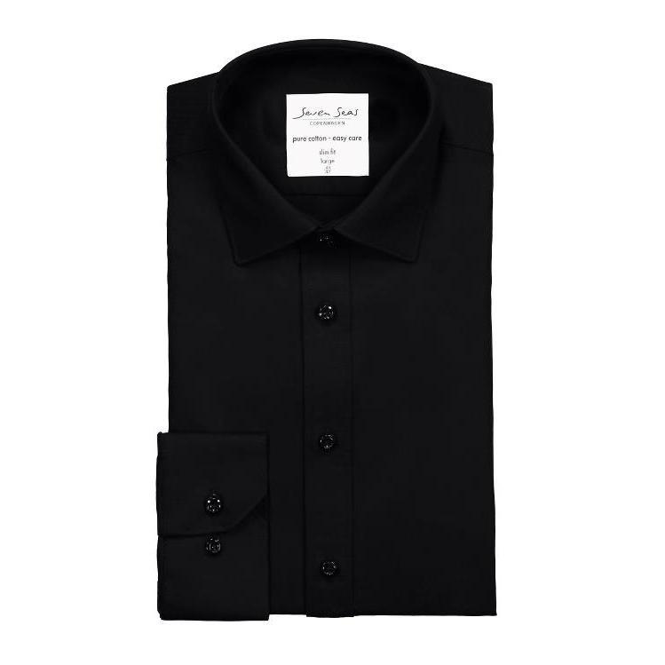 ID SS30 Fine Twill Long Sleeve | Slim Fit