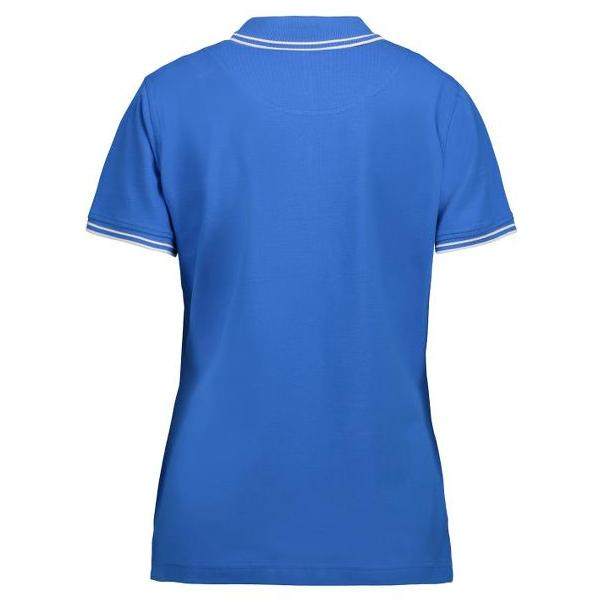 ID Dames contrast stretch polo shirt 0523