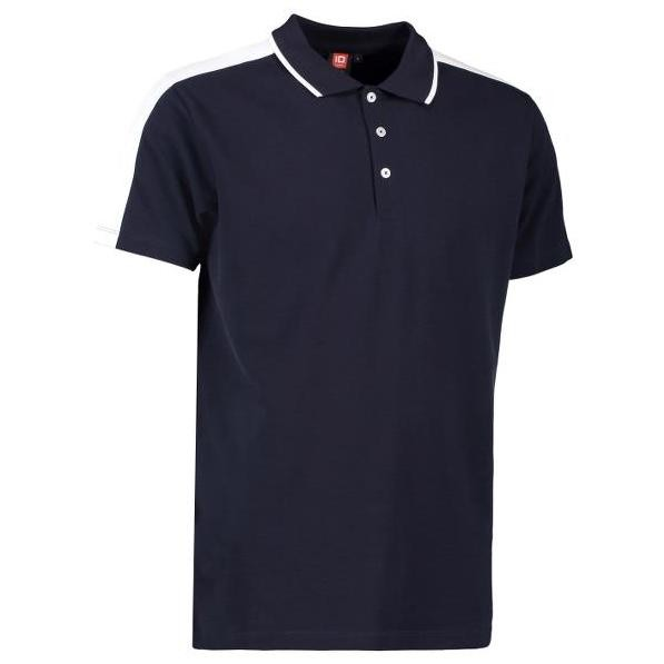 ID 0530 Stretch Polo Shirt Contrast