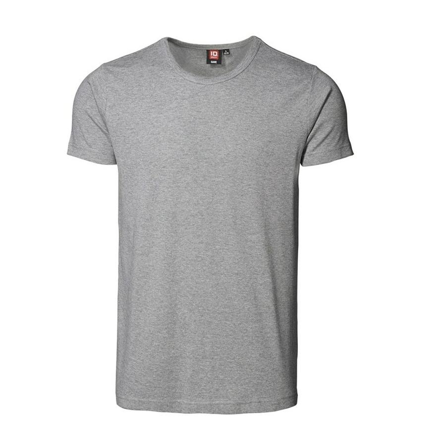 1x1 Rib T-Shirt Slimline model ronde hals en korte mouwen