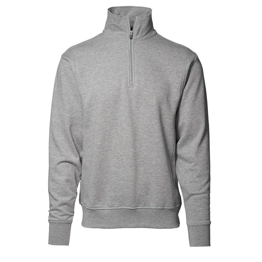 Klassiek Sweatshirt, hoge kraag-ritssluiting