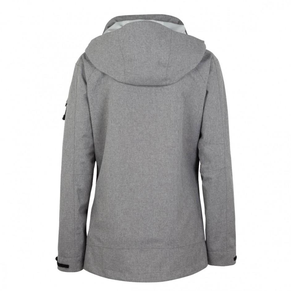 250 Dames Fernie Active Jacket Hakro grijsmelange