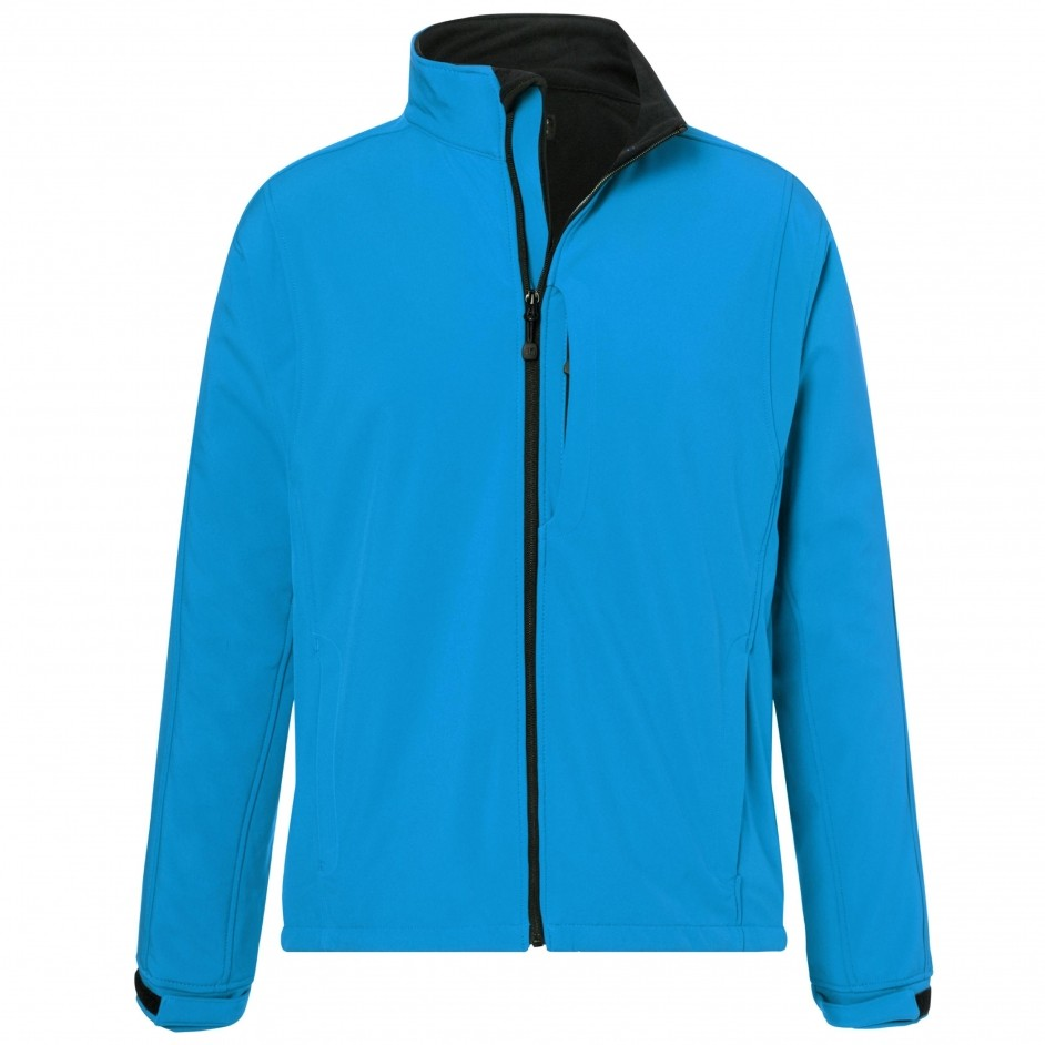 Softshell heren  aqua