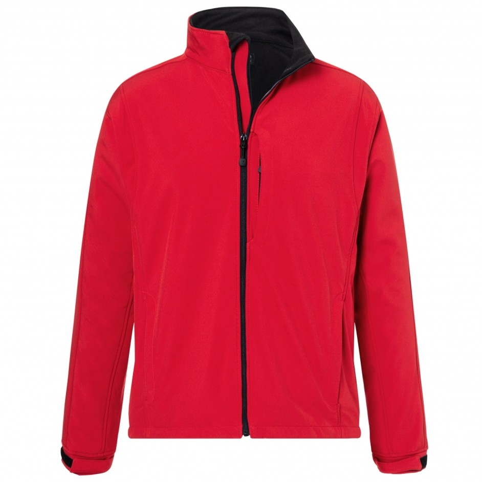 Softshell heren rood