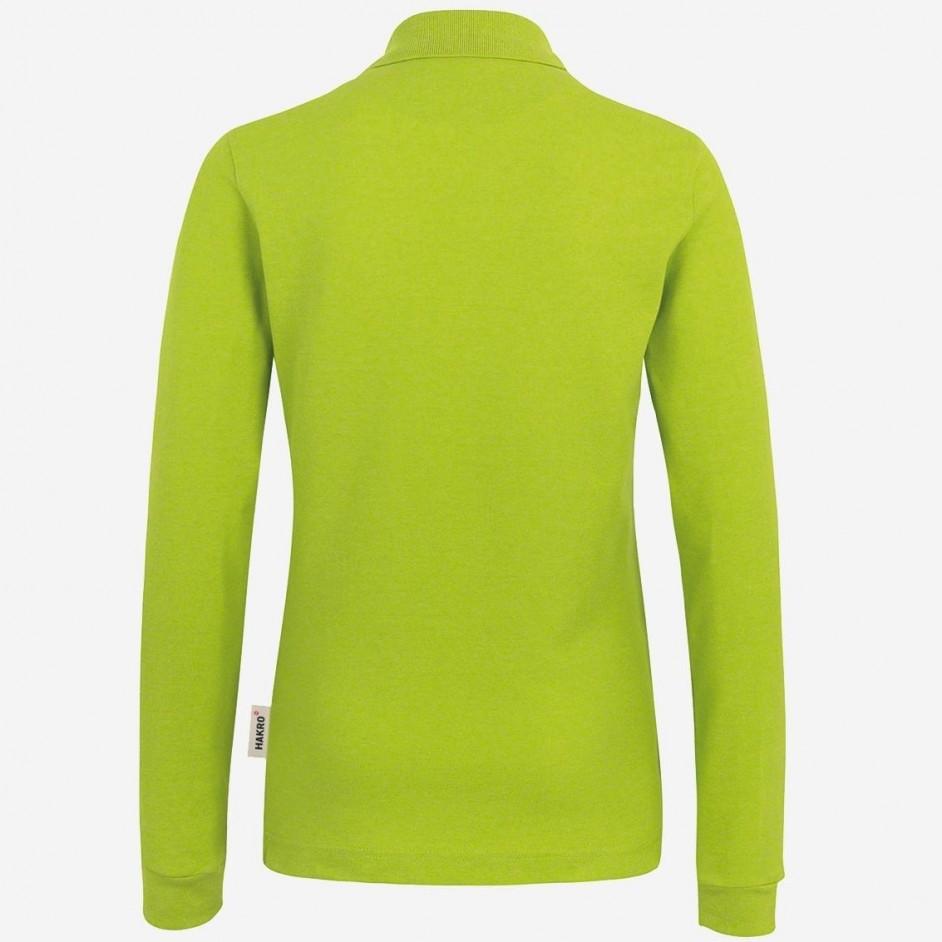 215 Dames longsleeve Poloshirt Performance Hakro