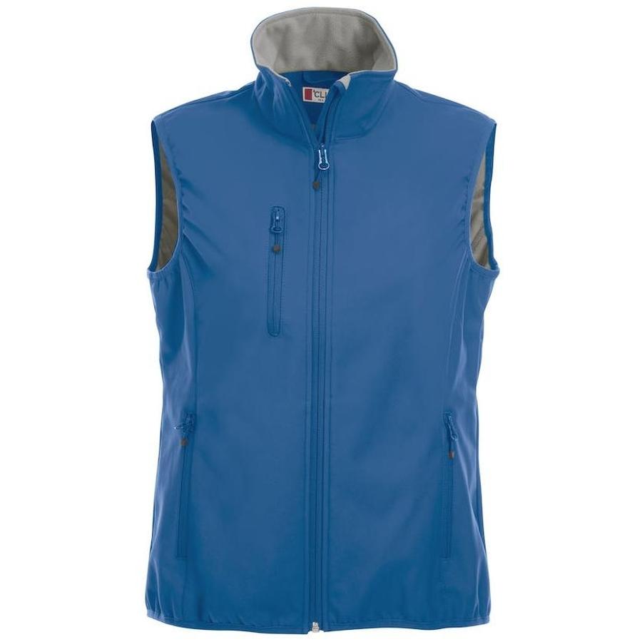 Basic Softshell vest voor dames