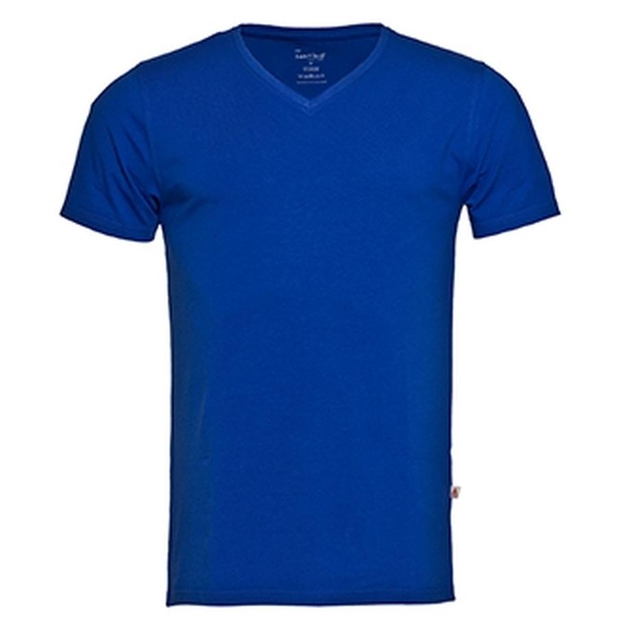 T-shirt v-hals korte mouw heren