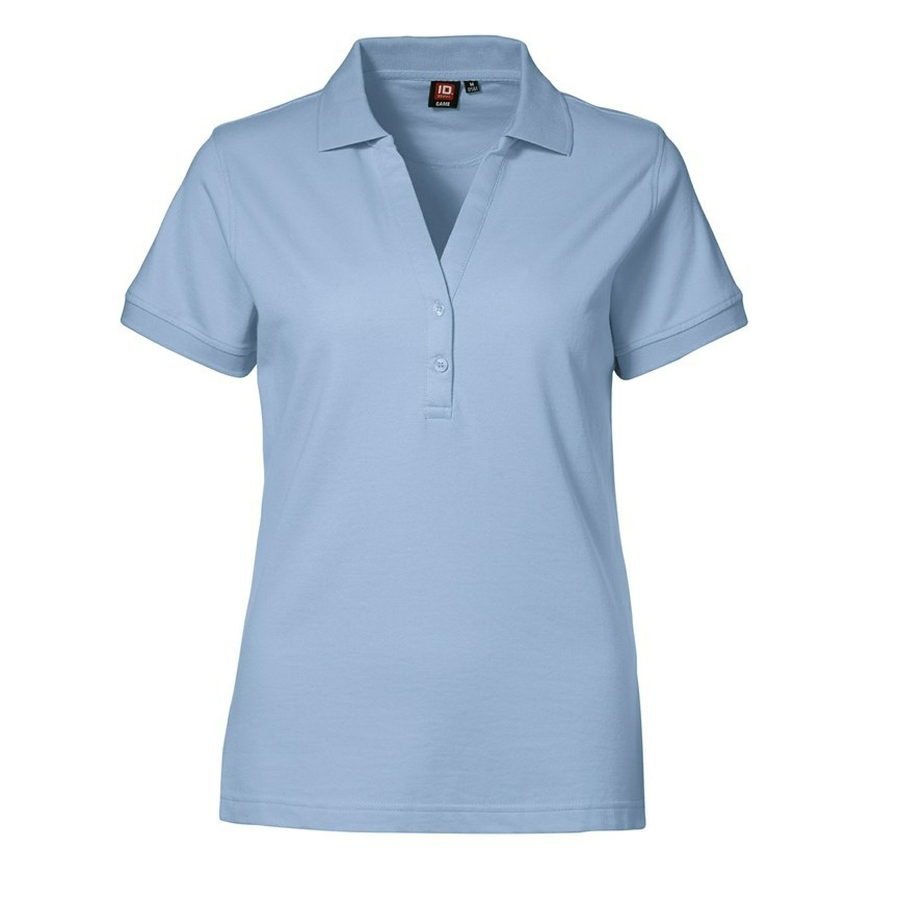 Dames Polo Shirt in Pique kwaliteit