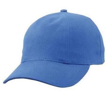 MB609 cap met gedraaide panelen koningsblauw