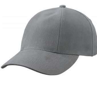 MB609 cap met gedraaide panelen donkergrijs