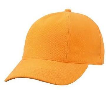 MB609 cap met gedraaide panelen oranje