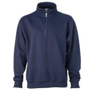 Zip Sweat Workwear donkerblauw