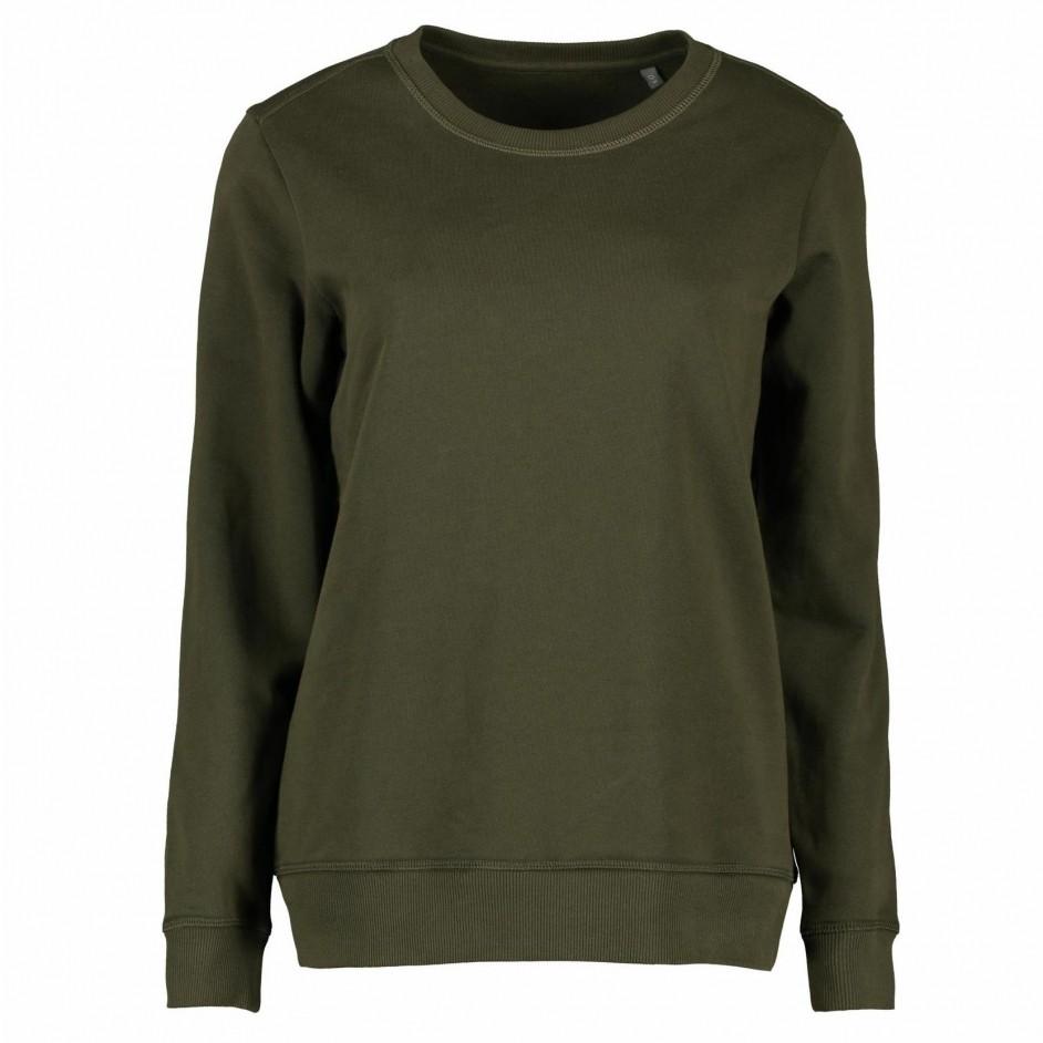 ID 0683 Sweater olijf