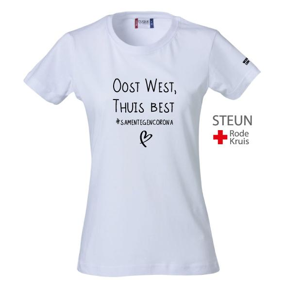 Webshirtcompany #OWTB Dames Wit