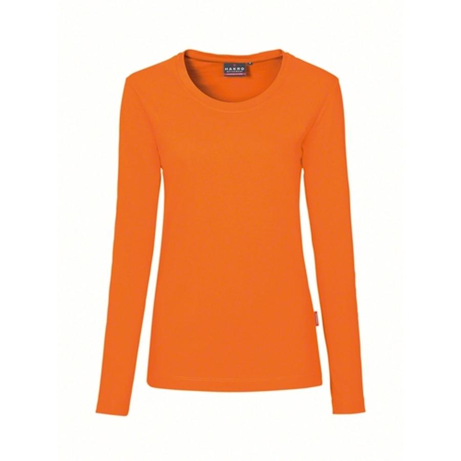 Hakro Woman Performance Long Sleeve 279 Orange
