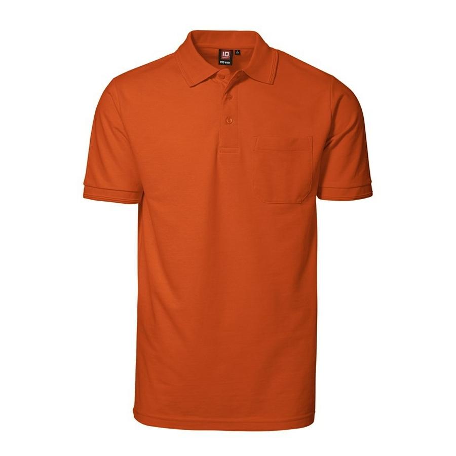 Poloshirt korte mouw met borstzak