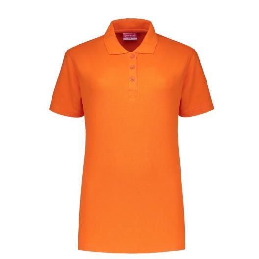 Uni polo shirt Ladies Workman oranje