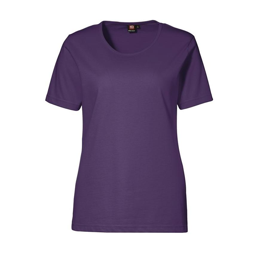 Dames T-shirt ronde hals korte mouw