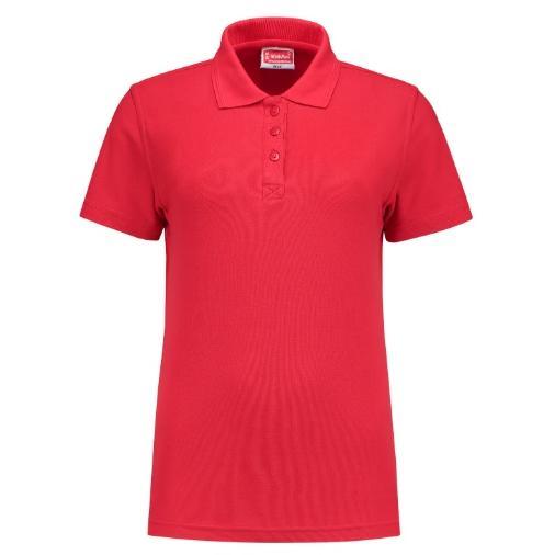 Uni polo shirt Ladies Workman rood