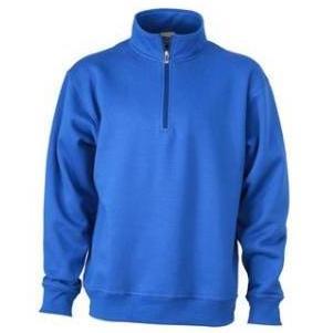 Zip Sweat Workwear koningsblauw