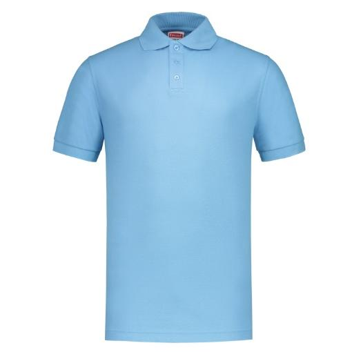 Uni polo shirt Workman Sky Blue