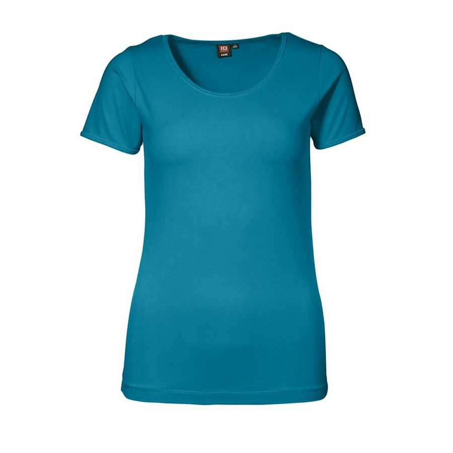 Dames STRETCH T-Shirt korte mouw