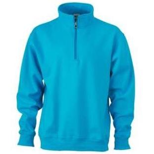 Zip Sweat Workwear turquoise