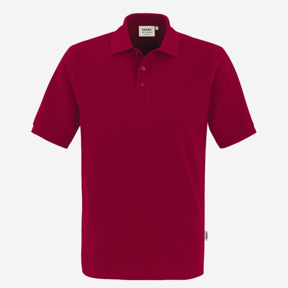 810 Poloshirt Classic Hakro Wijnrood