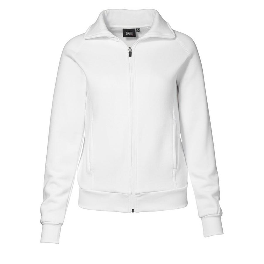 Dames Sweatshirt Vest met ritssluiting