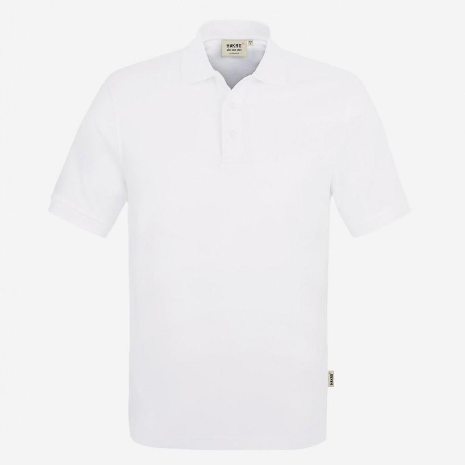 810 Poloshirt Classic Hakro Wit