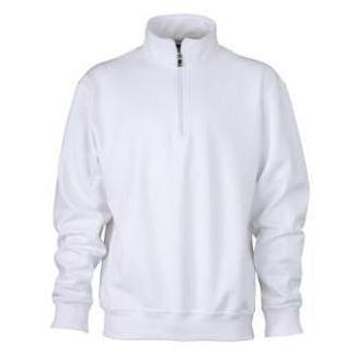 Zip Sweat Workwear wit