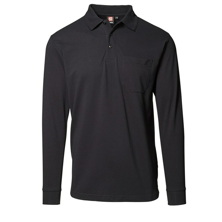 Polo Shirt Lange Mouw met Borstzak