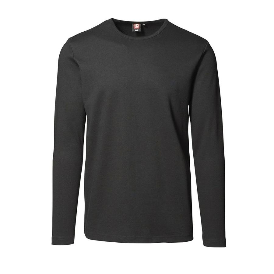 Interlock t-shirt met lange mouwen