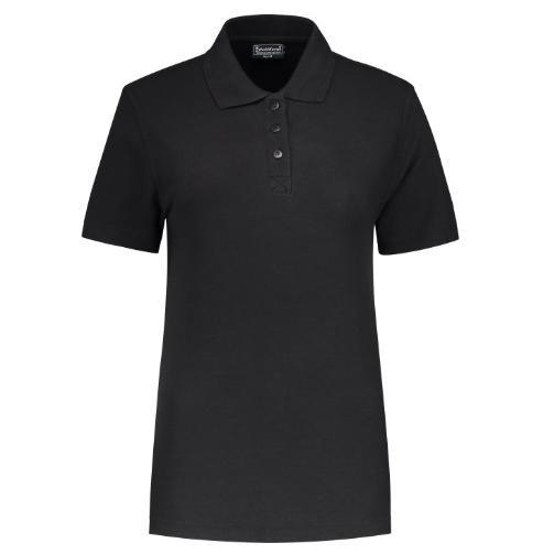 Uni polo shirt Ladies Workman zwart
