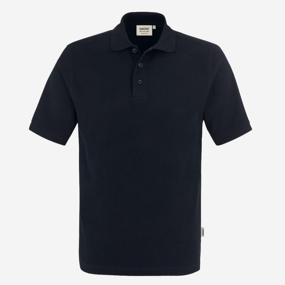 810 Poloshirt Classic Hakro Zwart