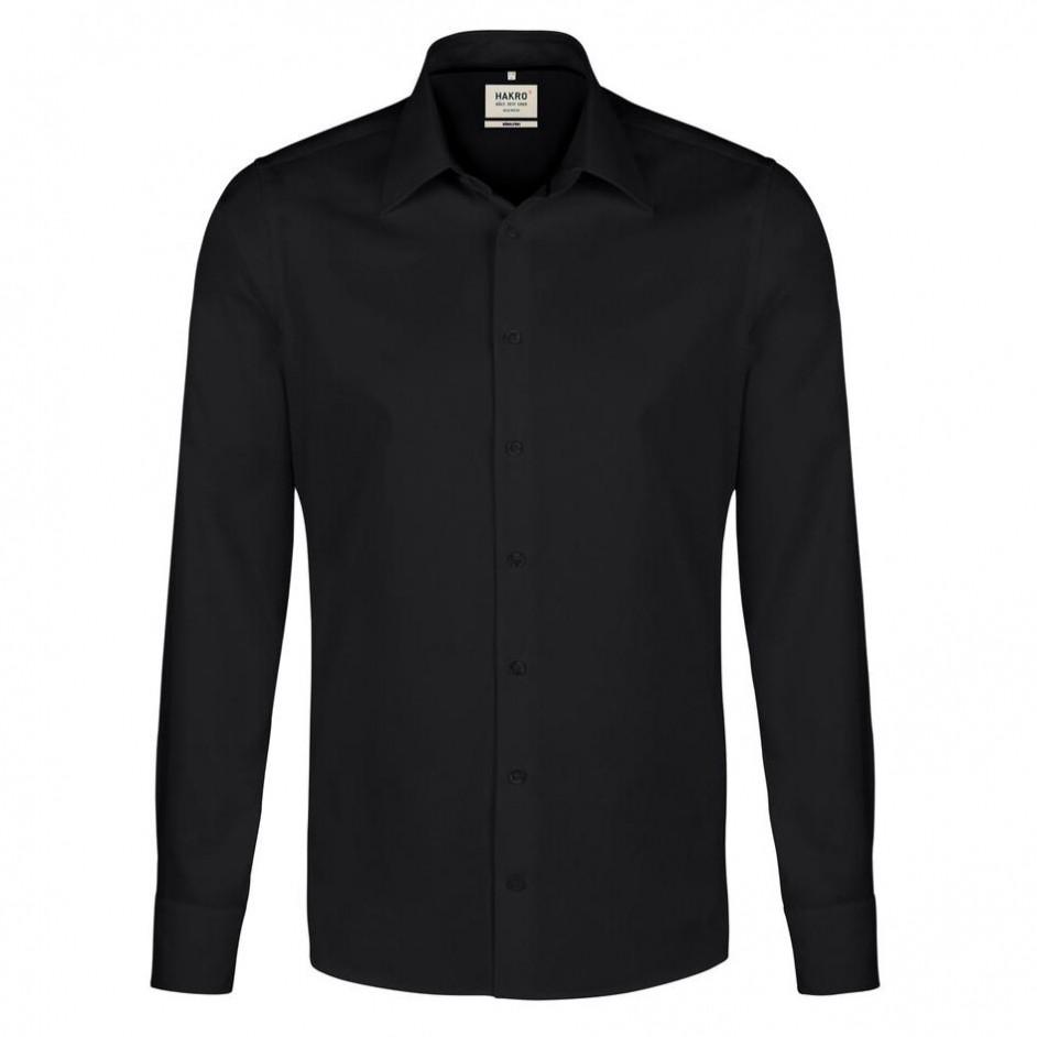 117 Hakro hemd zwart