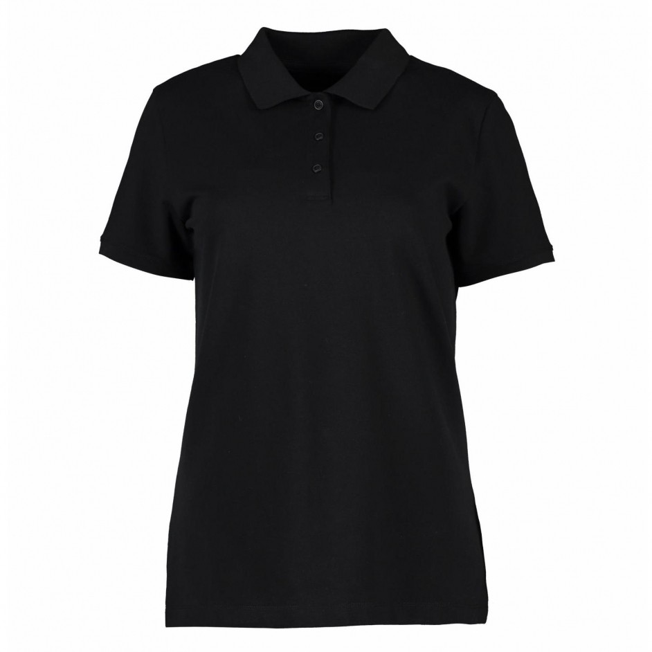 ID 0587 Poloshirt zwart